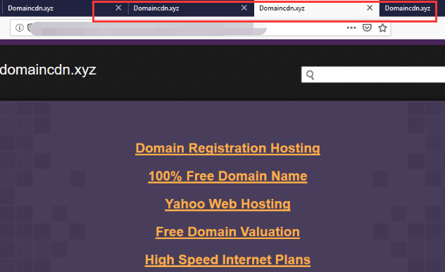 domaincdn.xyz redirect