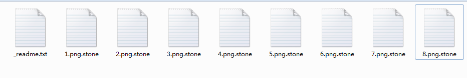 .stone Ransomware files