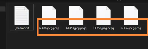 pcqq file extension Virus